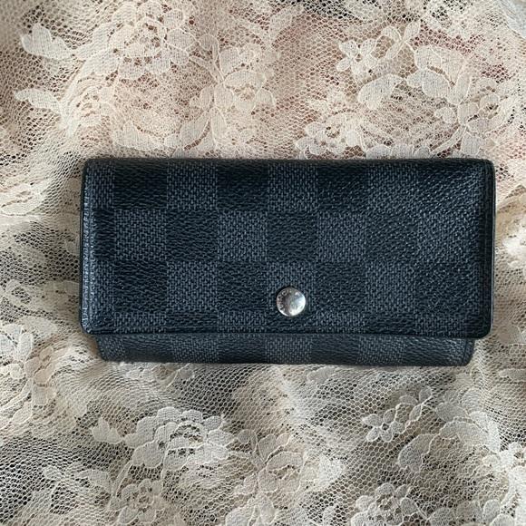 Louis Vuitton Graphite Key Pouch